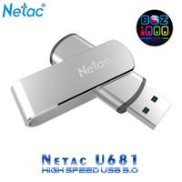 High Speed USB Flashdisk 3.0 - Netac U681 - 16GB (Free OTG Converter)
