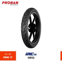 Ban Motor IRC TL NR92 70/90 Ring 17 Tubeless