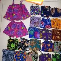 setelan batik anak perempuan 3BLN - 3TAHUN / baju baby doll perempuan
