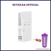Netgear EX6250 WiFi Mesh Range Extender with AC1750 Dual Band Booster - Free Tumbler