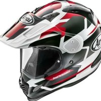 Helm Adventure Arai Tour Cross 3 DEPARTURE RED Made in Japan