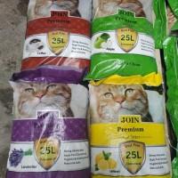 Promo pasir kucing JOIN 25lt . Paket (3) karung / GoJEK