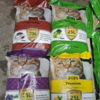 PROMO GOJEK pasir kucing join premium 25liter paket 3 karung no maxi