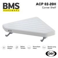 AER Tempat Aksesoris Peralatan Kamar Mandi Rak Mini Sudut ACP 02-20H