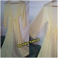 Long Outer Kimono Chiffon Long Cardigan Sifon Kardigan Panjang