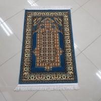 Sajadah Imam Turki Super Millenium (Biru) 80 CM X 120 CM