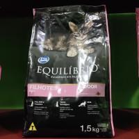 Makanan Kucing Equilibrio Kitten Indoor 1,5 Kg