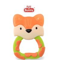 LustyBunny gigitan bayi water filled teether ADT8002 karakter fox