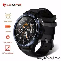LEMFO LEM12 4G LTE 3/32GB Smartwatch Phone Android Dual Camera FaceID