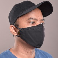 Masker Kain REGULER Bahan 2 Lapis Tebal Earloop Korea Anti Virus WGB