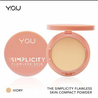 The Simplicity Flawless Skin Compact Powder by YOU Makeups