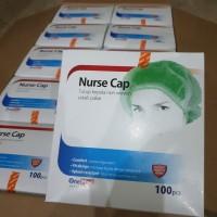 nurse cap/ tutup kepala onemed 1 box isi 100pcs