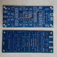 PCB Pelatuk PreAmp Dauble layer