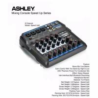 mixer audio ashley speed up6 murah bagus bluetooth usb