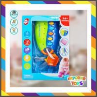 KKLEOR0 Mainan Edukasi Bayi LockLock dengan Lagu Lucu dan Permainan -