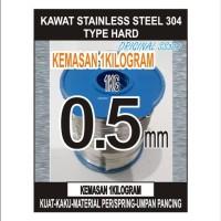 kawat stainless steel HARD 05 kode 304 1KG
