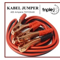 Kabel Jumper Aki 400A Booster Cable 400 Ampere x 2 5m 24V TOYOSAKI