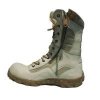 sepatu boots moofeat cream delta tracking gunung safety ujung besi