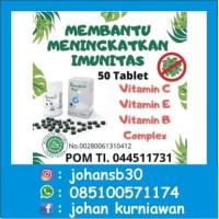 Supergreenfood 50 tab untuk Vitamin C,D,E, B Complex Untuk Imun Tubuh