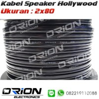 TERLARIS Kabel Speaker Hollywood 2x80 Per Meter