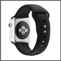 Strap iwatch sport rubber band apple watch series 5 4 3 2 1 tali jam