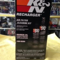 new K&N Recharger Air Filter Cleaning Kit SPAREPART MOBIL
