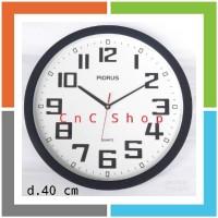 DA252 CNC SHOP Jam Dinding Besar 40cm Piorus 339