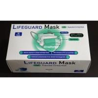 Masker Bedah Medis Lifeguard 3 ply Disposable Earloop Mask SERTIFIKAT