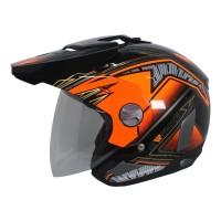 Helm Cargloss Former Motosport Orange - Deep black