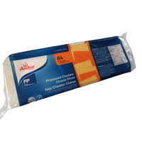 Anchor colored cheddar cheese slice / keju cheddar merk Anchor 1 kg
