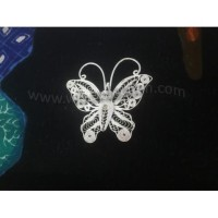 Bros Hijab atau Blazer Bentuk Kupu-kupu Model 104 | Bahan Tembaga