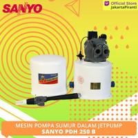 Mesin Pompa Air Sumur Dalam Jetpump 250 Watt Sanyo PDH 250 B - PROMO