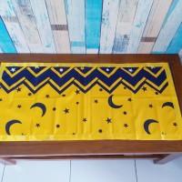 Taplak meja tamu motif starmoon 40x90 cm