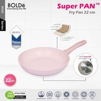 BOLDe SUPERPAN FRY PAN - Panci Penggorengan dgn GRANITE COATING 22cm