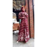 Gamis Amadea Gamis Busui Gamis Floral Gamis Bangkok Maxi Dress Terbaru