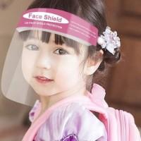 Face Shield Pelindung Wajah Transparan Anak Dan Dewasa Masker Bening