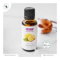 NOW Organic Lemon Essential Oil 30 ml