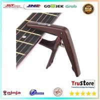JOYO Capo Gitar Wood Design - JCP-01 - Brown