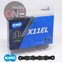 KMC X11EL BLACK TECH 256 Gram 118 Link - Chain Rantai 11 Speed