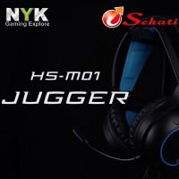 Headset Gaming NYK M01 Jugger Keren Profesional Mobile Gaming