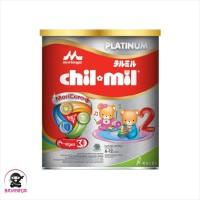 MORINAGA CHIL MIL Platinum Susu Formula Lanjutan Tin 400g / 400 g