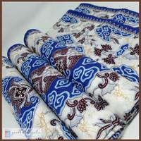 Kain Batik Megamendung Asli Cirebon Premium 215x115 - Biru