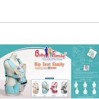 Gendongan Bayi Depan Hipseat Hip Seat Baby Scots Baby Family 6 BFG6102
