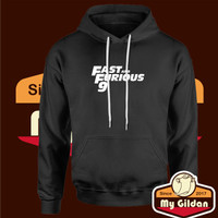 Jaket Hoodie / Sweater / Jumper - Fast and Furious 9 Logo - Hitam, S