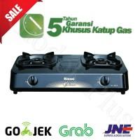 Rinnai RI-302S Kompor Gas 2 Tungku Teflon ri 302 s rinai ri302s