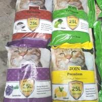 Promo Pasir Join 25L Paket 3pcs Pasir Wangi Kucing /Pasir Gumpal Wangi