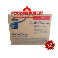 UNSALTED BUTTER ANCHOR 1 KG REPACK IMPORT PRODUK PREMIUM