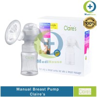 Breast Pump Claire's Manual Pompa Asi GBP A10 Claires