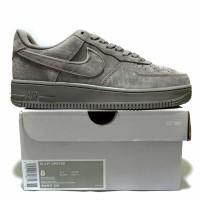 Sepatu Sneakers Nike Air Force 1 Low LV8 Suede Grey Premium BNIB