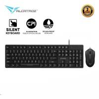 Alcatroz Xplorer C3300 Keyboard Mouse Combo untuk Home & Office Spill